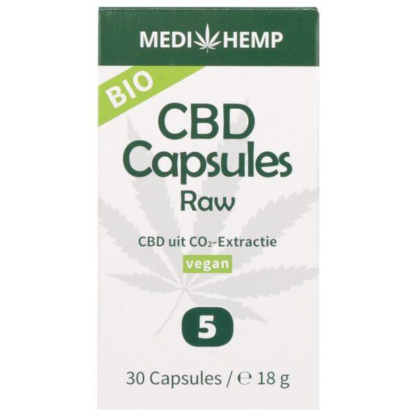 Productfoto Medihemp capsules 5% 30 stuks