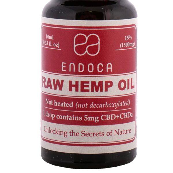 Productfoto Endoca CBD Olie 15% (10ml)
