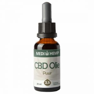 Product image of Medihemp CBD Oil Pure 2,5% (30ml)