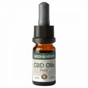 Product image of Medihemp CBD Oil Pure 5% (10ml)