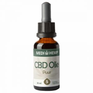 Product image of Medihemp CBD Oil Pure 5% (30ml)