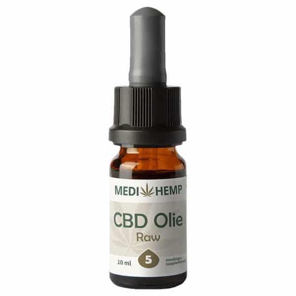 Product image of Medihemp CBD Oil RAW 5% (10ml)