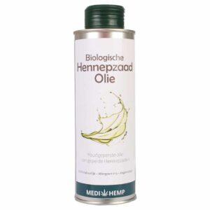 Product image of Medihemp organic hemp seed oil from shelled hemp seeds (250ml)