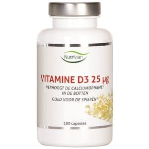 Product image of Nutrivian Vitamin D3 (100 pieces)