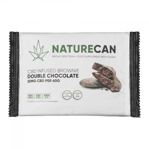 NATURECAN Brownie Double Chocolate 1