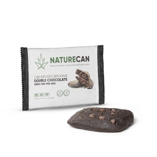 Naturecan Brownie Double Chocolate 2