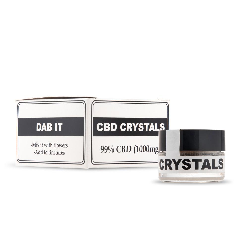 verpakking CBD kristallen endoca