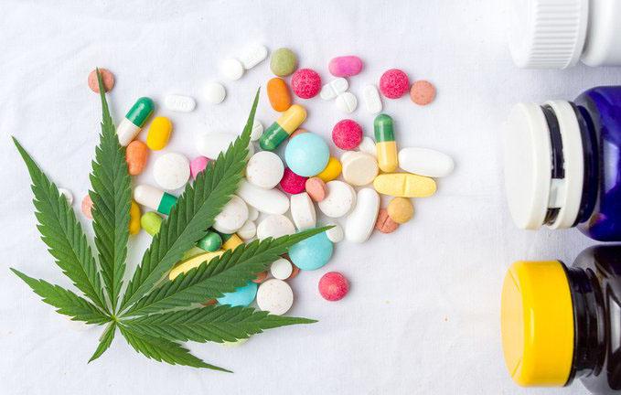 foto van CBD en geneesmiddelen